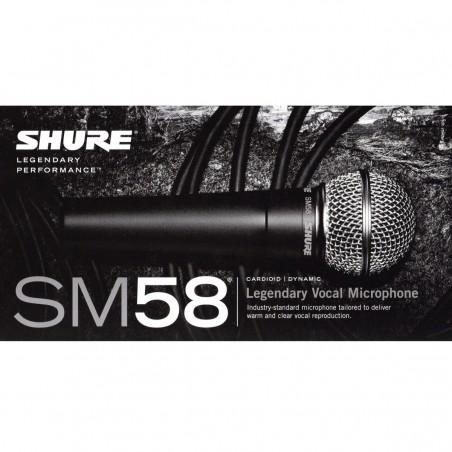 Microfon Voce Shure SM58 LCE