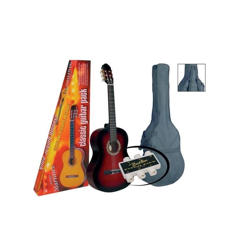 Set Chitară clasică 1/2 Martinez MTC082-PR  Basic S