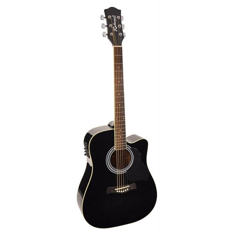 Chitara electro-acustica Richwood RD12CEBK