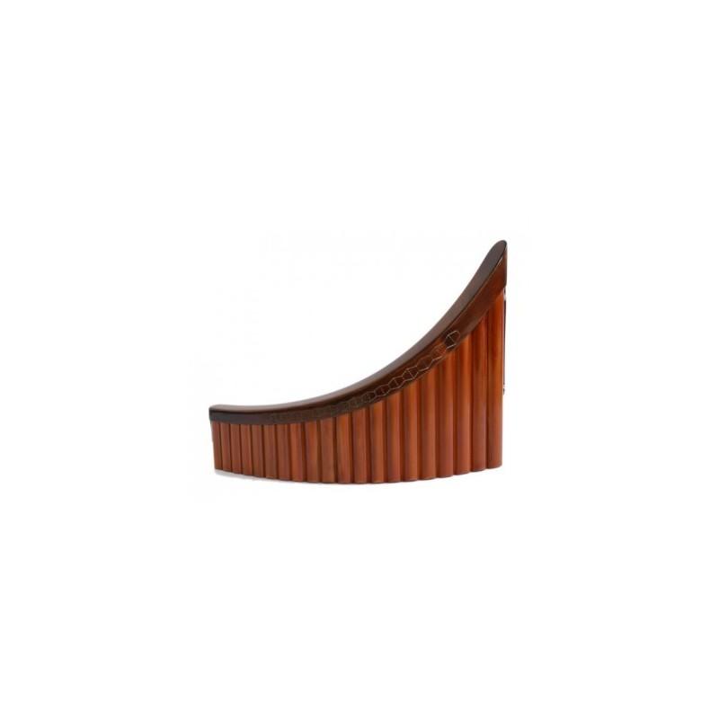Nai romanesc 20 tuburi bambus sopran B1-G4 Hora Reghin