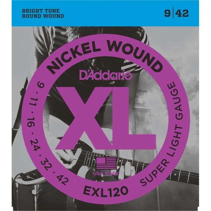 D'addario EXL120 [Corzi chitară]