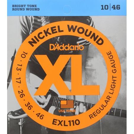D'addario EXL110 [Corzi chitară electrică]