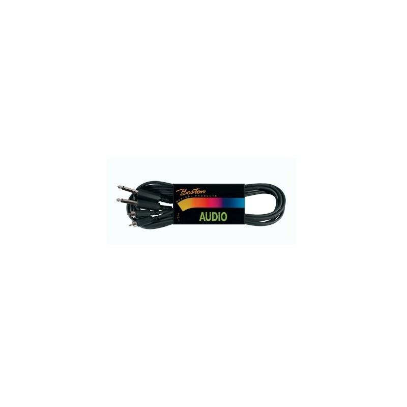 Cablu Audio Boston BSG310 2RCA- Jack 6.3 mono 1.5 metri