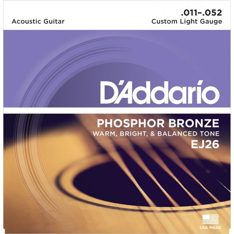 D'Addario EJ26 [Corzi chitară acustică]