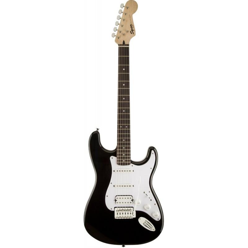 Squier Fender Bullet Stratocaster HSS Black [Chitară electrică]