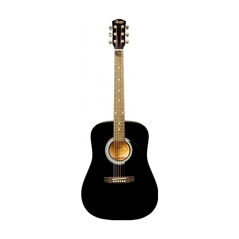 Squier Fender SA-105 Black [Chitară acustică]