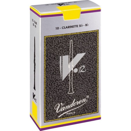 Ancii Clarinet Francez Sib 4,5 Vandoren V12