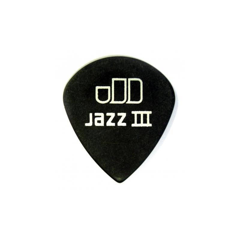 Dunlop 482R1.0 Jazz III Pitch Black - Pana Chitara