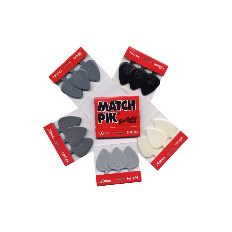Dunlop 448R.73 Matchpick - Set Pene Chitara