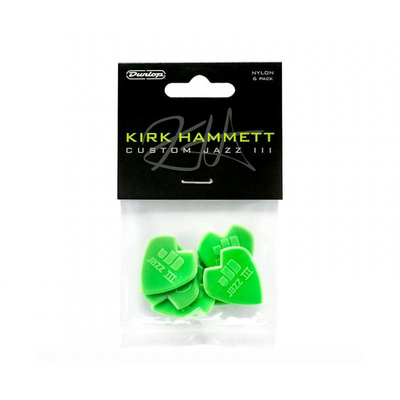 Dunlop 47PKH3N K. Hammet Jazz 6/PLYPK - Set Pene Chitara