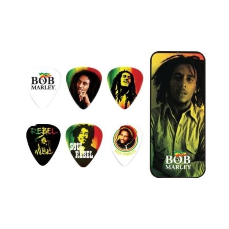 Dunlop Bob Marley Picktin - Set Pene Chitara