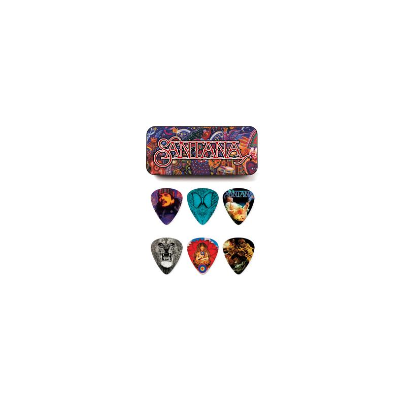 Dunlop SANPT01H Santana Heavy - Set Pene Chitara