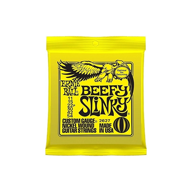 Ernie Ball Slinky Beefy [Corzi Chitară]