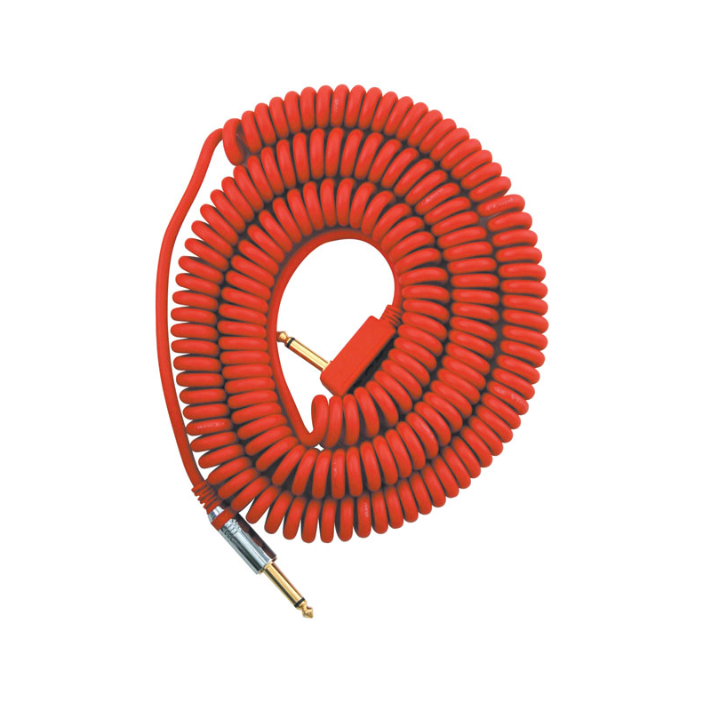 Cablu Chitara - Vox VCC-90 Coil Cable Red