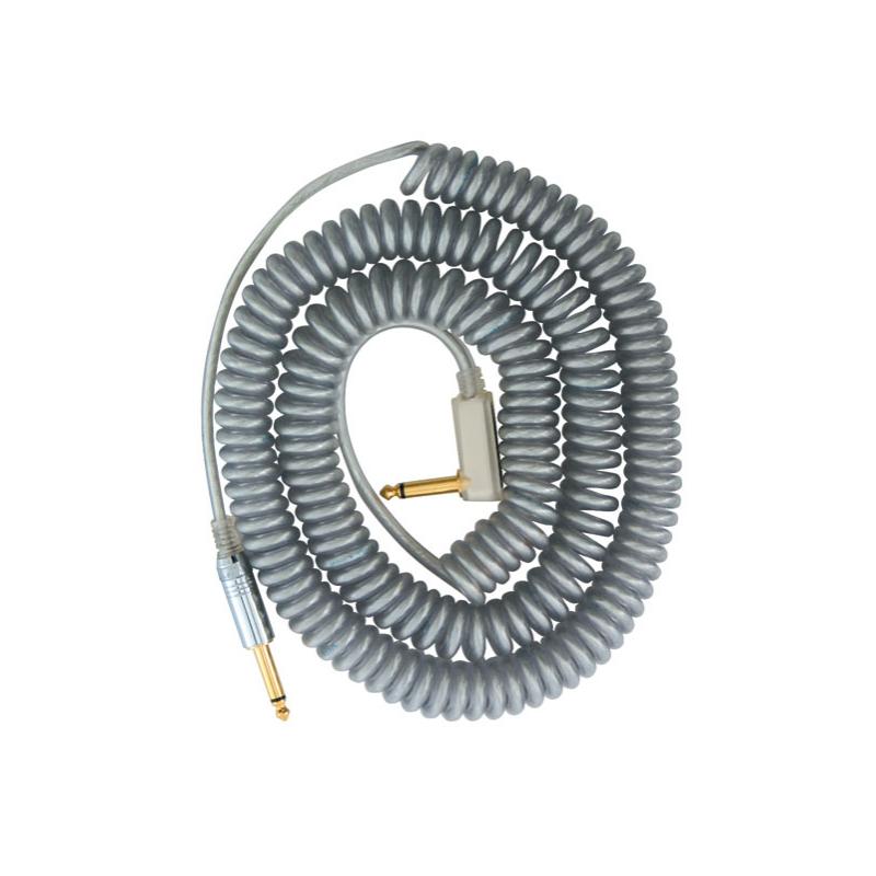 Cablu Chitara - Vox VCC-90 Coil Cable Silver