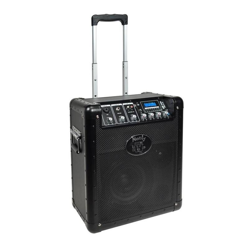 "MONTY8 GATT AUDIO BOXA ACTIVA PORTABLA CU ACUMULATOR 8""+1""HF 22W RMS"