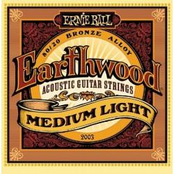 Corzi chitara acustica Ernie Ball Earthwood Medium Light - 2003