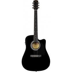 Squier SA-105 CE Black [Chitară electro-acustică]