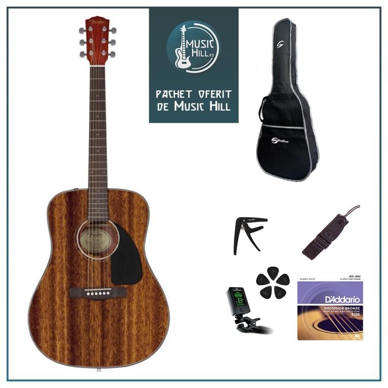 Fender CD-60 All Mahogany [Pachet Music Hill]