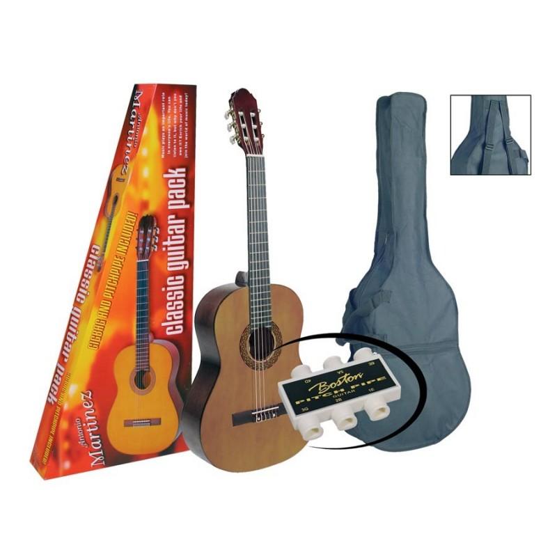 Martinez MTC080-P 4/4 Pack [Chitară clasică]