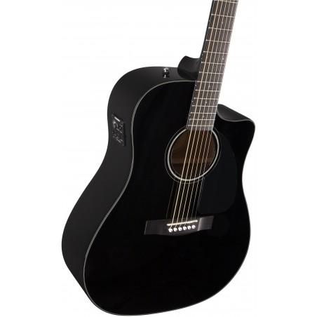 Fender CD-60 CE Black [Chitară electro-acustică + husă]