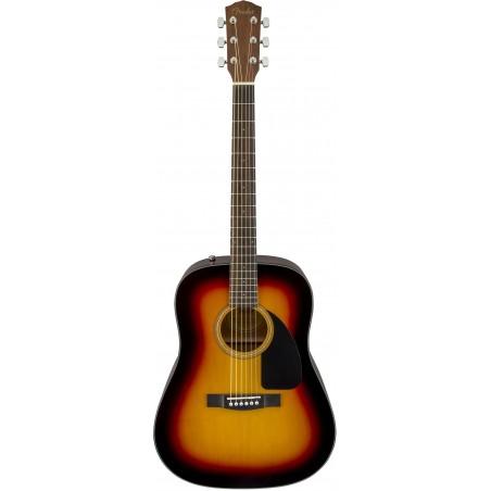 Fender CD-60 Sunburst [Chitară acustică + husă]