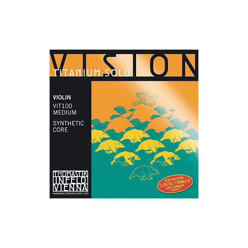 Thomastik Vision Titanium Solo - Corzi Vioară