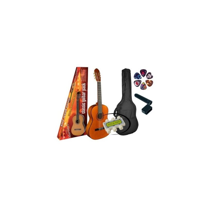 Set Chitară clasică 4/4 Martinez MTC080-PG Basic M