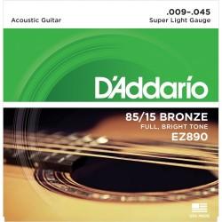 Corzi chitară acustică D'Addario Ez890