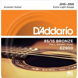 Corzi chitară acustică D'Addario Ez900