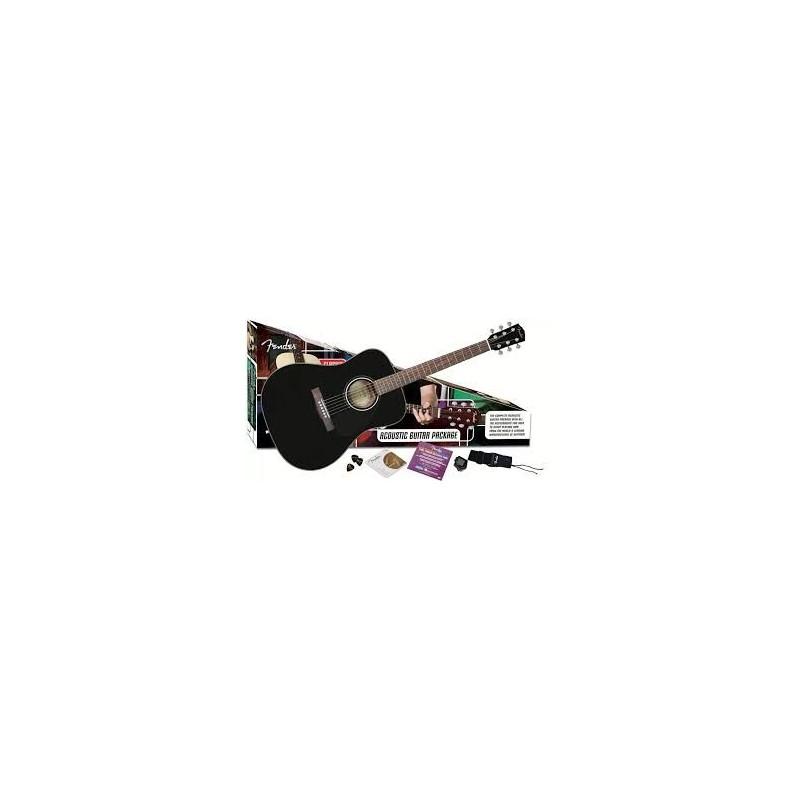 Set chitara acustica Fender CD-60 Acoustic Value Pack