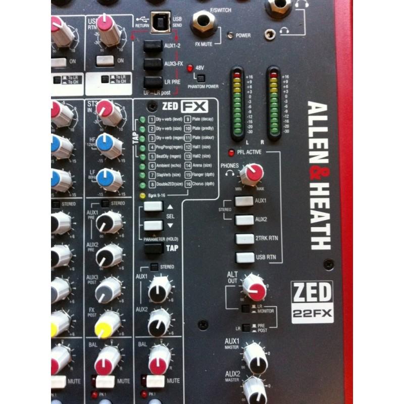 Allen & Heath ZED 22FX
